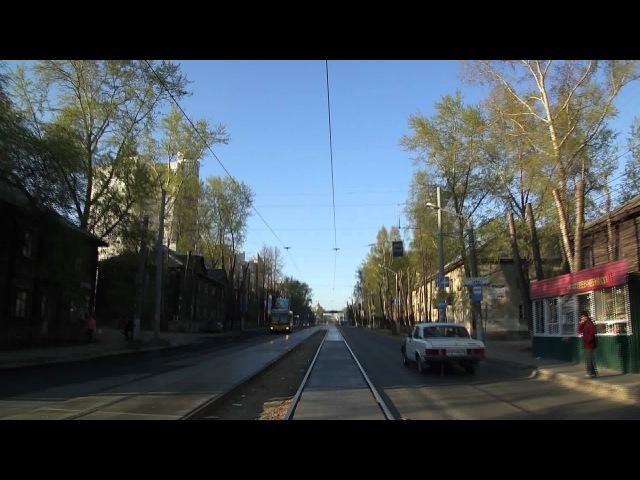 Пермь Трамвай 60102 Маршрут 11
