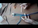 One handed 1 finger surgical knot базовый хирургический узел 1 палец 1 рука 3 1080р