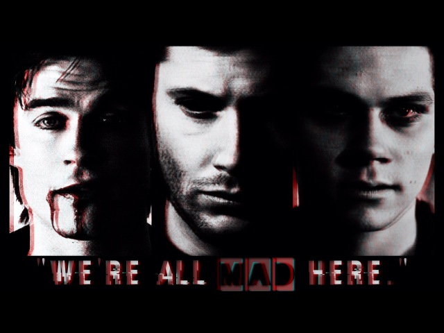 Multimale psycho | mad hatter [tw, spn, tvd]