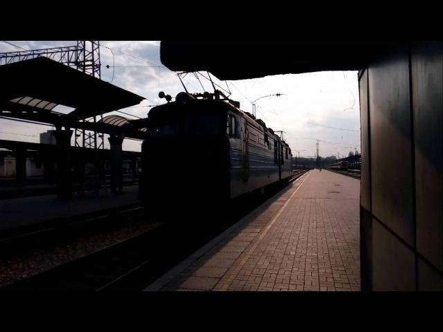 Прицепка ВЛ82м-045 к пассажирскому поезду Днепропетровск-Полтава