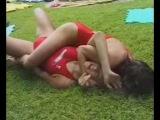 DWW178 02 Luzia vs Antonia &amp Clara - female wrestling