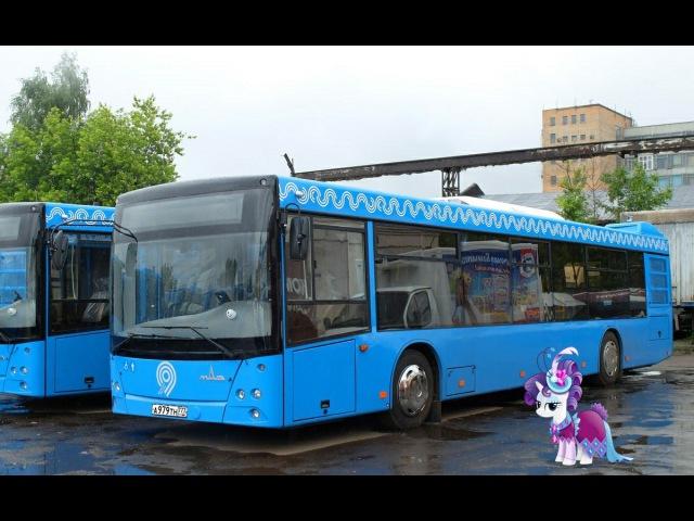 Поездка на автобусе МАЗ-203.069 А 979 ТН 777 Маршрут № 502 Москва
