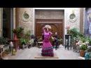 Baile Flamenco - Casa de la Memoria - Baile por Guajira con abanico