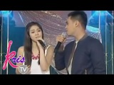 Marlo and Janella sing