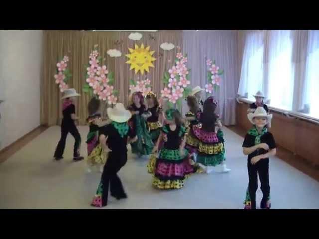 эстрадный танец в детском саду чунга-чанга