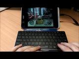 Rapoo e6350. Лучшая клавиатура для планшета Android Windows iPad. Компактная клавиатура.