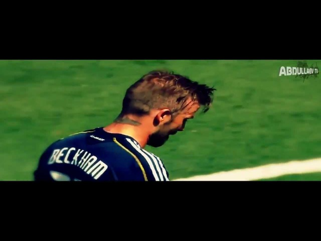 David Beckham • Hangover • LA Galaxy - Skills Goals Free Kick 2013 HD