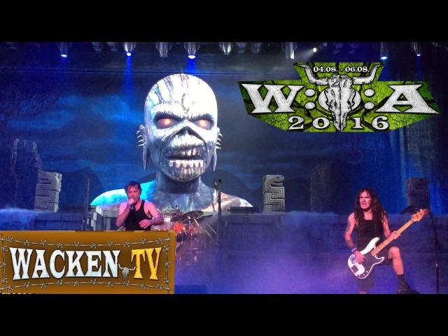 HD] 2016 Iron Maiden LIve At Wacken open Air Festival 2016 FULL DVD Concert [ Complete Show part 1