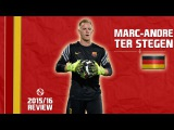 MARC-ANDRE TER STEGEN | Best Saves & Overall Goalkeeping | Barcelona | 2015/2016 (HD)