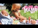 Беби Борн Кукла покакал Памперс меняем Игры для детей Новые серии BABY BORN