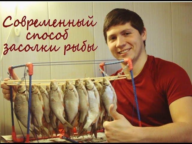 Сушилка для рыбы Абушка-1. Современный способ засолки рыбы