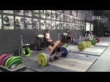 Jessica Lucero (58kg) - Last Workout Leading Up to Meet
