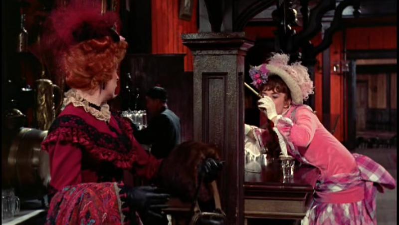 Чертовка в розовом трико / Heller in Pink Tights (1960)