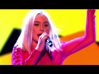 Zara Larsson - Lush Life/ Girls Like (feat. Tinie Tempah) [Live on The Voice UK 2016]