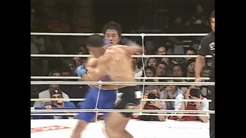 10 - Antonio Rogerio Noguiera vs. Kazuhiro Nakamura - PRIDE Bushido 4 - 2004-07-19