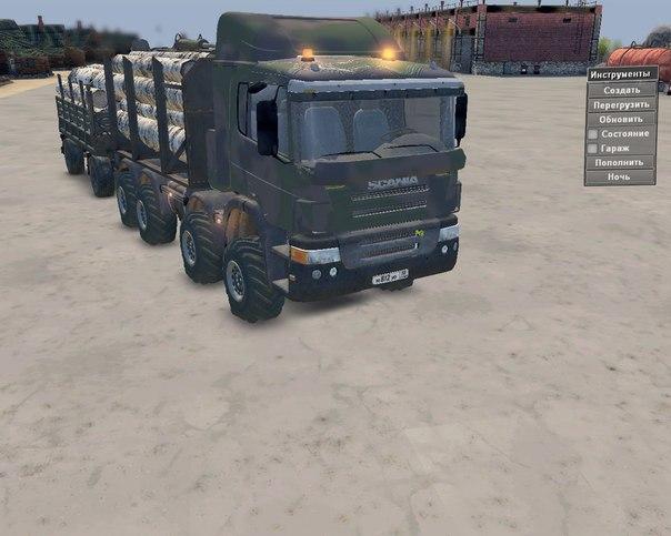 """Scania 8X8"" для 03.03.16"