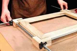 Изготовление рамок из дерева для фотографий своими