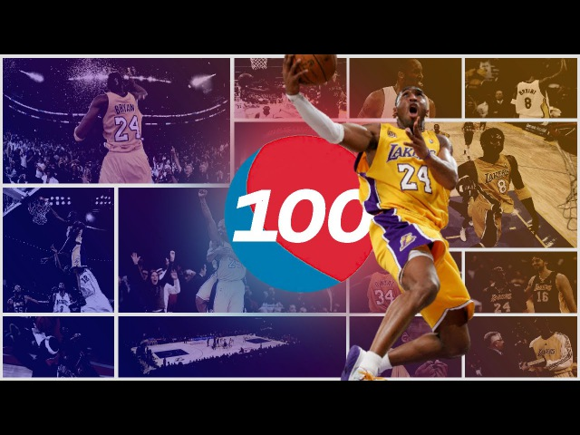 Kobe Bryant Top 100 Plays of Career
