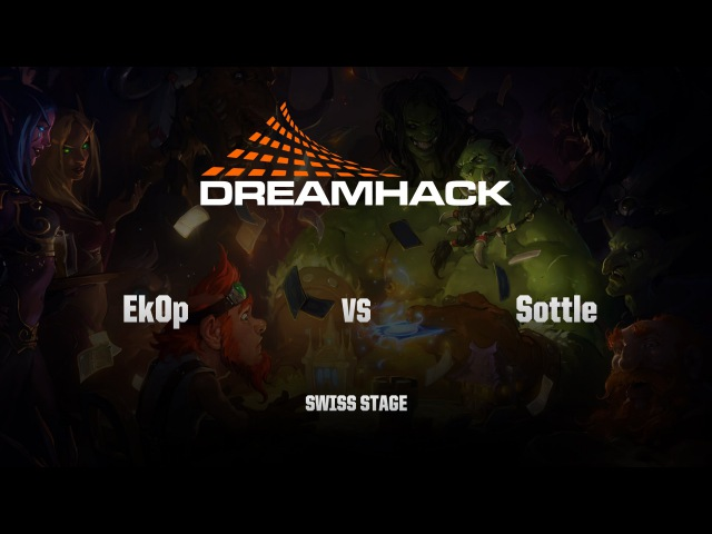 [RU] Ek0p vs Sottle | DreamHack Winter 2015 | Swiss Stage