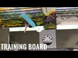 Snowboard Addiction Training Board Product Video