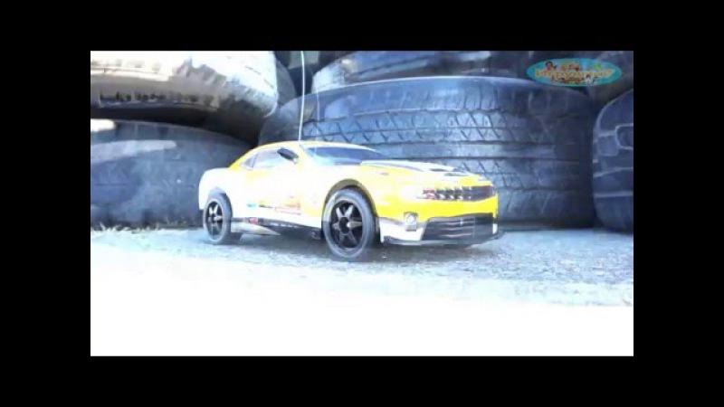 Машина 105 Т (8) на радио управлении Chevrolet Camaro SS , аккум, 9,6V, в кор-ке, 43*27*18см
