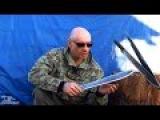 КАК СДЕЛАТЬ МАЧЕТЕ, ТЕСАК Making machetes from saw Изготовление тесака из стали 9ХФ, 62 HRC.