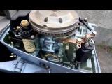 Обзор лодочного мотора Evinrude 6 л.с. 1984 года (часть 1)