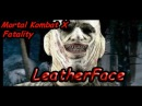 Mortal Kombat X - New LeatherFace - Fatality Seeing Double Gameplay REVEALED! Kombat Pack 2 DLC