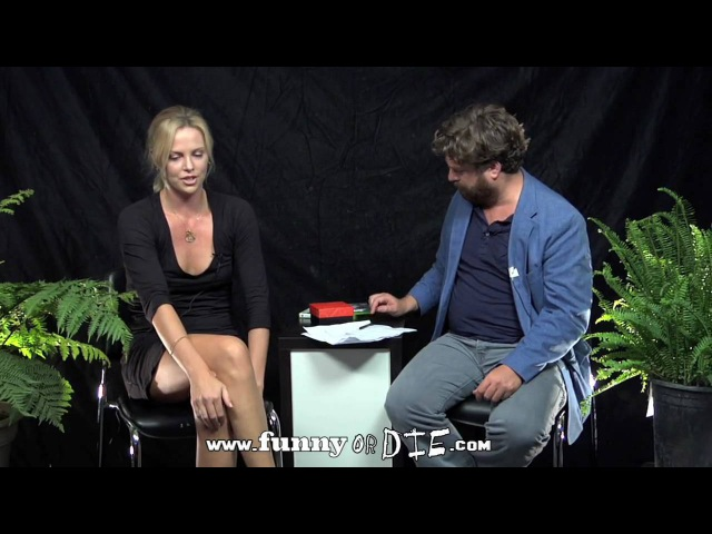 Charlize Theron Between Two Ferns with Zach Galifianakis
