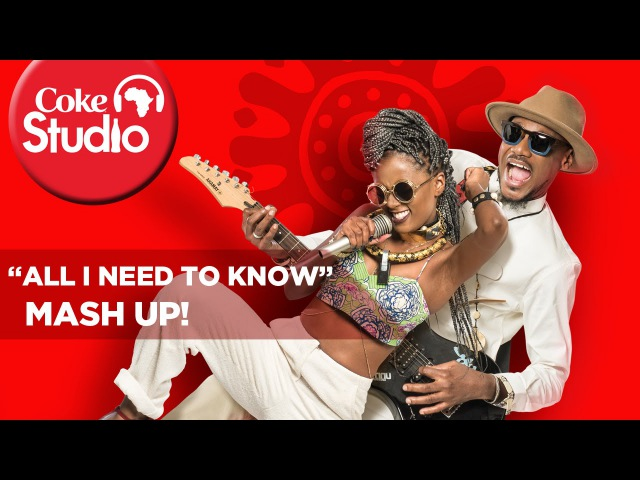 2face idibia (2baba) Vanessa Mdee - All I Need To Know Mash Up CokeStudioAfrica