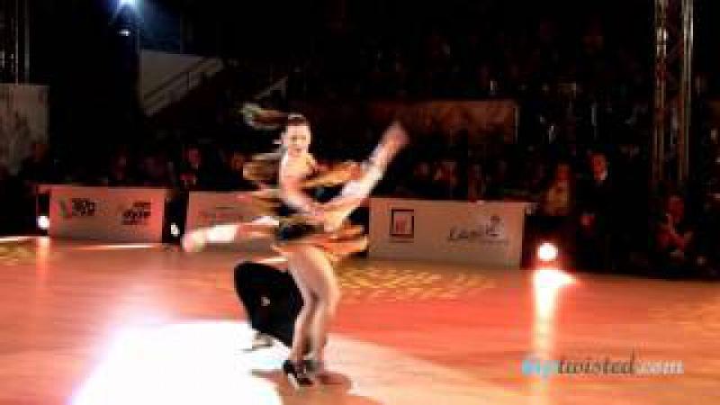 Jakub Mazuch - Michaela Gatekova, show, Czech national latin championship 2014
