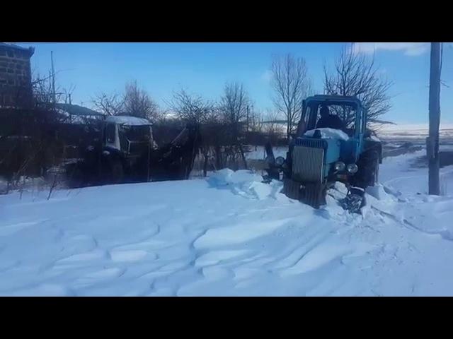 Kizil-Kilisa Mtz 82 Belarus sneg