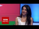 Amal Clooney 'Why I'm defending Azerbaijani journalist