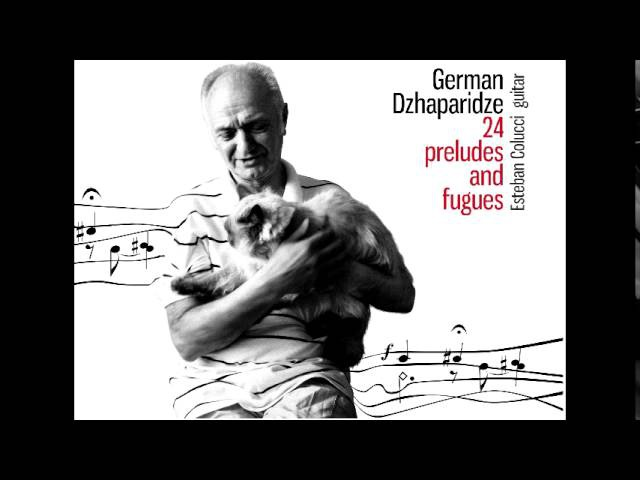 Esteban Colucci plays Prelude Fugue No.18 in G sharp minor by German Dzhaparidze