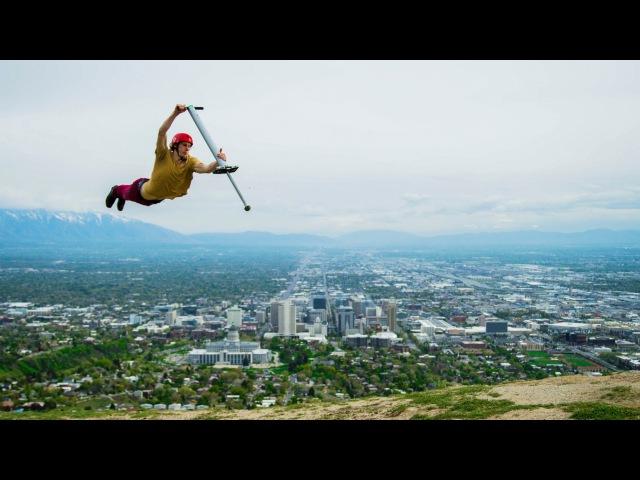Pogo Freestyle! World's Best Pogo Tricks | DEVINSUPERTRAMP