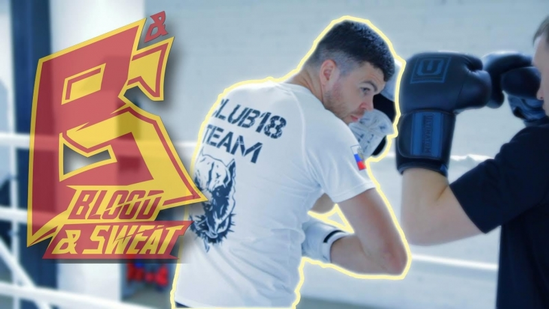 Тайский бокс Артем Левин Удар локтем через финт с шагом Reverse elbow Artem Levin