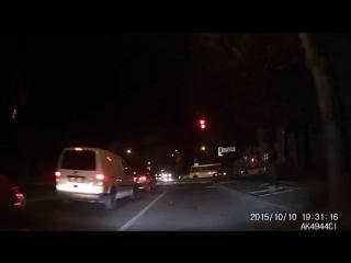 FHD видеорегистратор G1WH - ночная съёмка город