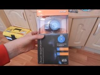 Обзор Экшн камеры спорткамеры DNS AC 528 Full HD 1080 съемка в помещении и на улице