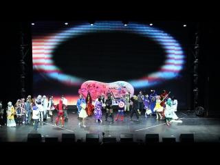 Головоломка - Команда The GЯBLI Studio - Всероссийский фестиваль японской анимации 2016