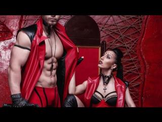 Эротическое стриптиз шоу | SM show OVERLORD ( сексуальный женский и мужской танец)