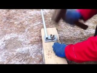 Ручной станок для гибки арматуры, видеоинструкция