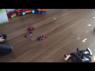 Having fun! #fun #toys #boys #cars Commented by Marion and Sacha 😍😀👍