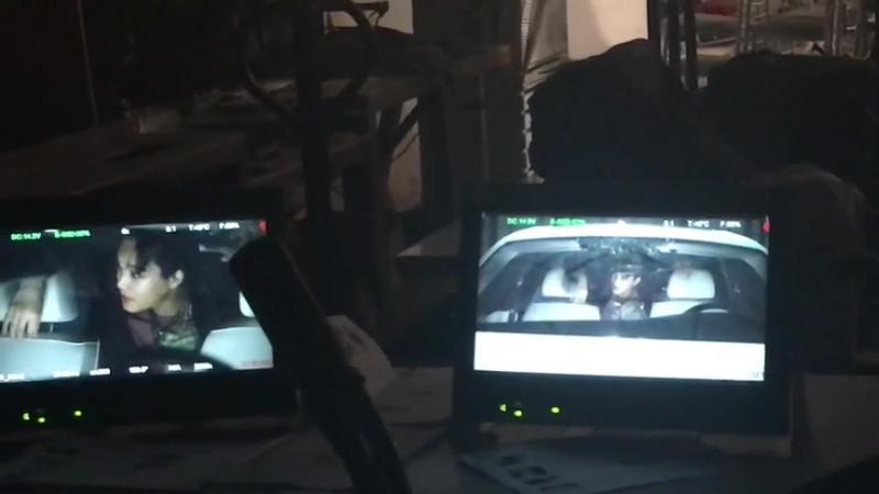 160819 EXO Kai - 'Lotto' MV @ Behind the scenes