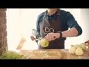 Как быстро почистить яблоко. Суперспособ! How to peel an apple Рецепты Bon Appetit