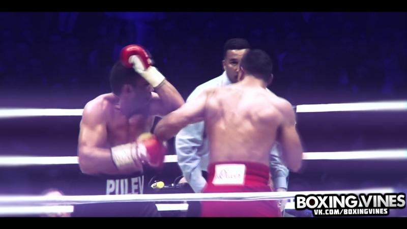 Левая Владимира Кличко.(Boxing Vines)