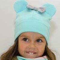 Стильные детские шапки оптом от производителя