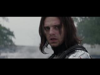 Капитан Америка против Зимнего Солдата(Лучшая Рукопашная Драка MArvel)