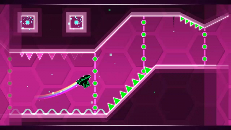 GeometryDash Hexagon force 3 stars