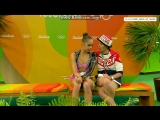 Маргарита Мамун - булавы (квалификация)  Олимпийские Игры 2016