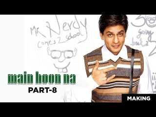 Main Hoon Na | Making of Comedy Scenes | Shah Rukh Khan, Sushmita Sen | A Film By Farah Khan